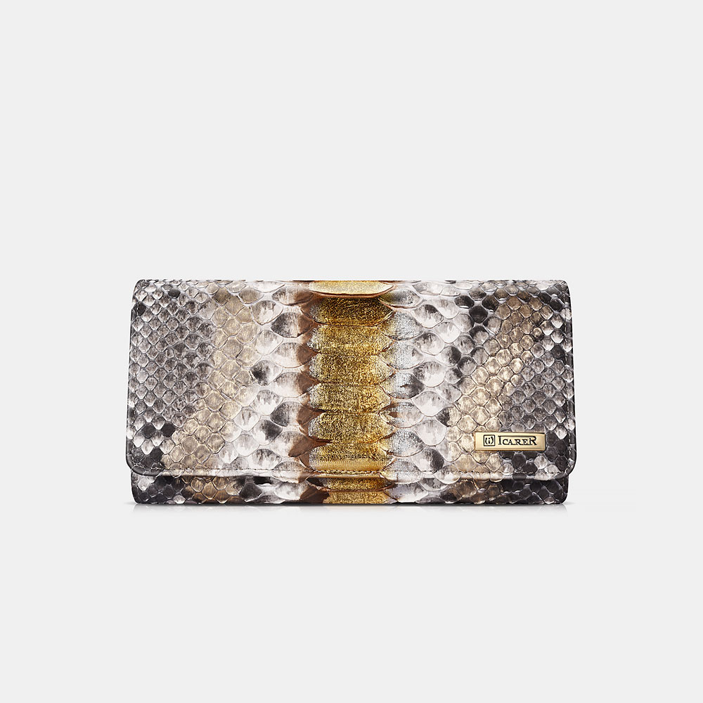 Python Leather Wallet Series