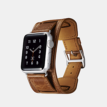 Classic Genuine Leather Quadri-Watchband Series For Apple Watch