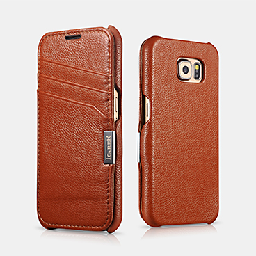 Card Slot Litchi Pattern Series For SAMSUNG Galaxy S6