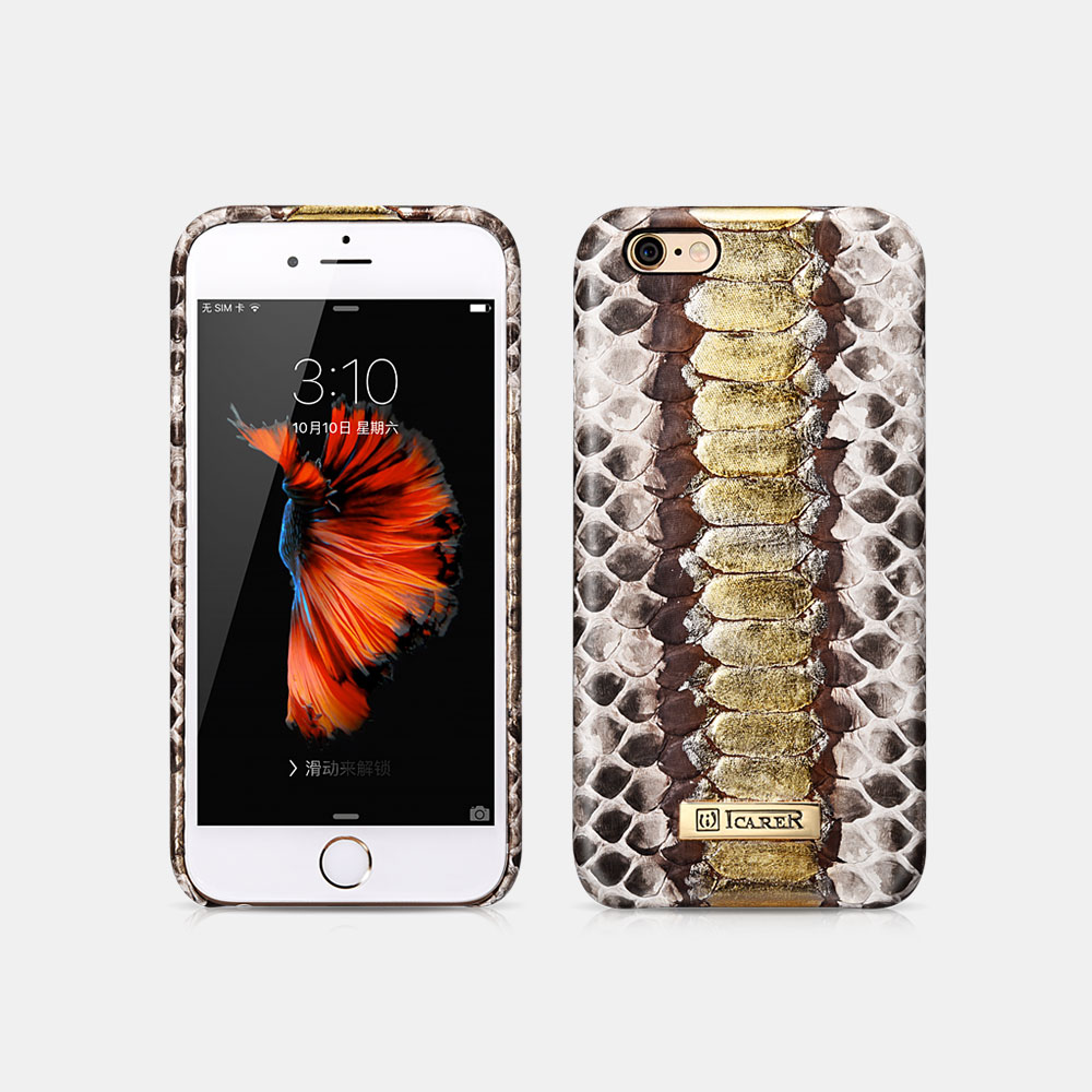 Python Leather Back Cover Series For iPhone 6/6S