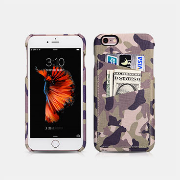 Camouflage Card-slot Back Cover Series For iPhone 6/6S