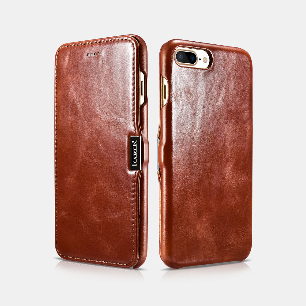 Vintage Series (Side-open) For iPhone 7 Plus/8 Plus