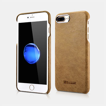 Metal Warrior Shenzhou Real Leather Back Case For iPhone 7 Plus//8 Plus