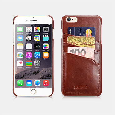 Vintage Card-slot Back Cover Series For iPhone 6 Plus/6S Plus