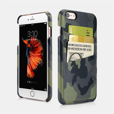 Camouflage Card-slot Back Cover Series For iPhone 6 Plus/6S Plus