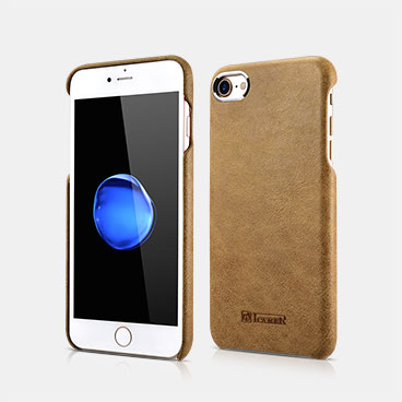 Metal Warrior Shenzhou Real Leather Back Case For iPhone 7/8