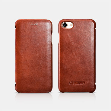 iPhone 7/8 Leather Curved Edge Case