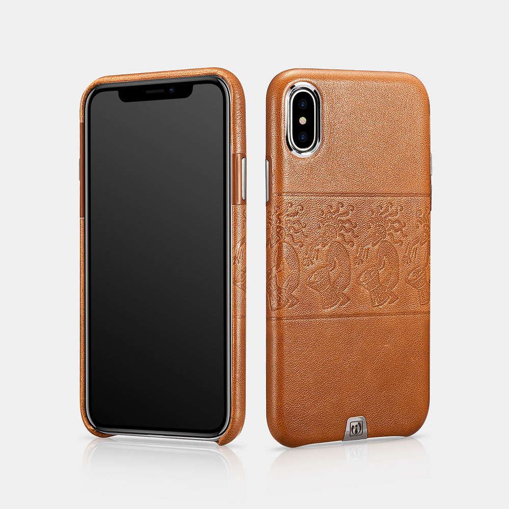 iPhone X Transformer Vintage Back Cover Series