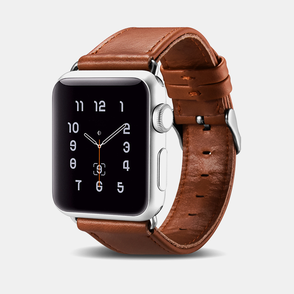 Vintage Real Cow Leather iWatch Strap