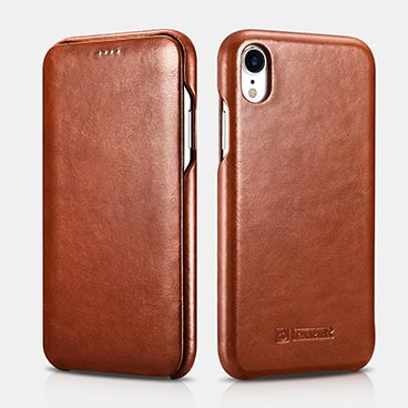 iPhone XR Curved Edge Vintage Folio Case(6.1 inch)