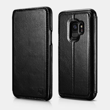 Samsung S9 Distinguished Series Real Leather Detachable 2 in 1 Wallet Folio Case