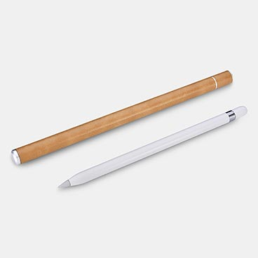 Microfiber Leather iPad  Pencil Aluminum Container
