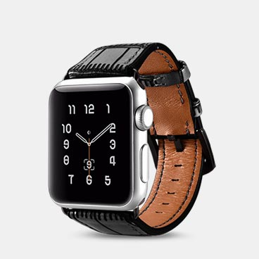 Avant-garde Series Genuine Cowhide Leather Apple Watchband for 42mm/44mm