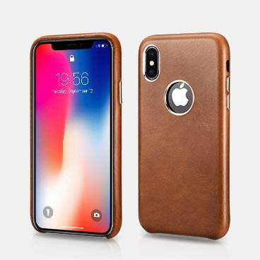 iPhone XS Retro Original Mobile Phone Back Cover with logo hole