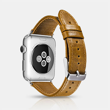Handmade Custom Leather Bands Classic Genuine Leather Series Watchbands For Apple Watch