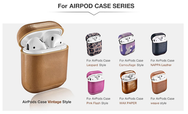 AirPods leather cases