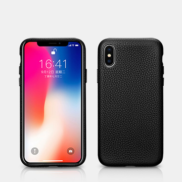 iPhone Xs Hermes Leather Back Cover