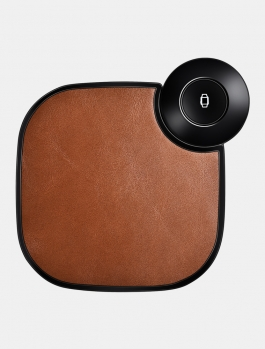 2 in 1 Leather Stretchable Fast Wireless Charge