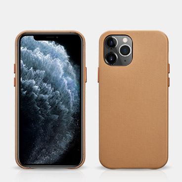 iPhone 12 Pro Original Real Leather Back Cover