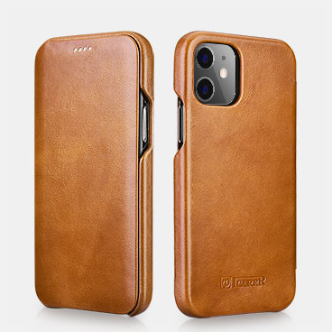 iPhone 12/12 Pro Curved Edge Vintage Folio Case