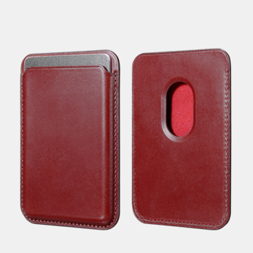 Vintage Genuine Leather Magsafe Wallet Case for iPhone